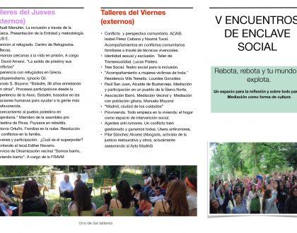 V ENCUENTRO ENCLAVE SOCIAL